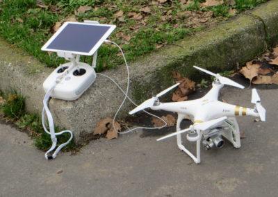 Sistema di pilotaggio drone