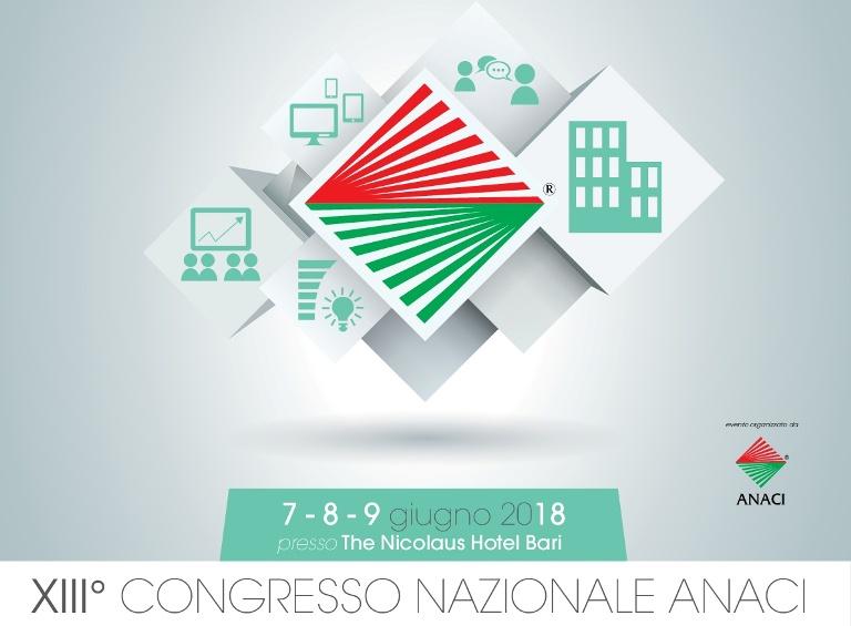Sicurcond main sponsor del XIII Congresso nazionale Anaci, in programma per il 7, 8 e 9 giugno a Bari